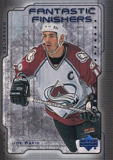 99-00 Upper Deck - Joe SAKIC č. FF15