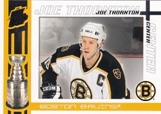 03-04 Quest for the Cup - Joe THORNTON č. 10