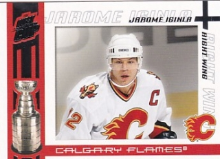 03-04 Quest for the Cup - Jarome IGINLA č. 15