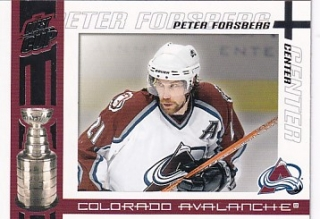 03-04 Quest for the Cup - Peter FORSBERG č. 23