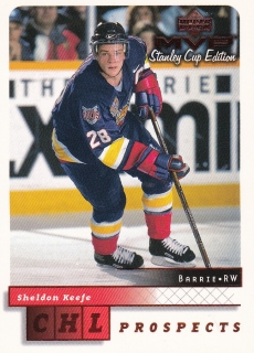 99-00 MVP Stanley Cup Edition - Sheldon KEEFE č. 195