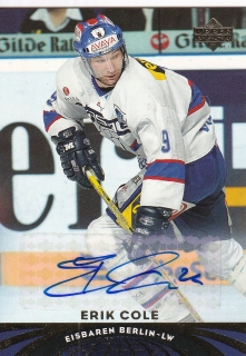04-05 UD All-World Edition - Erik COLE č. 20 Autographs