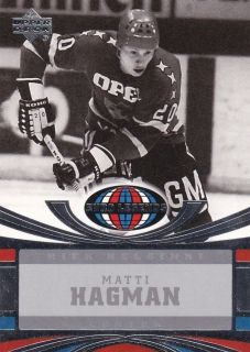 04-05 UD All-World Edition - Matti HAGMAN č. 106