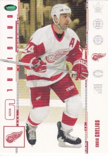 03-04 Parkhurst Original Six - Chris CHELIOS č. 2
