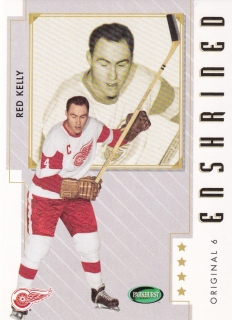 03-04 Parkhurst Original Six - Red KELLY č. 84