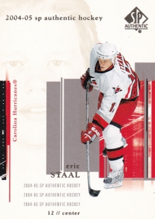 04-05 SP Authentic - Eric STAAL č. 17